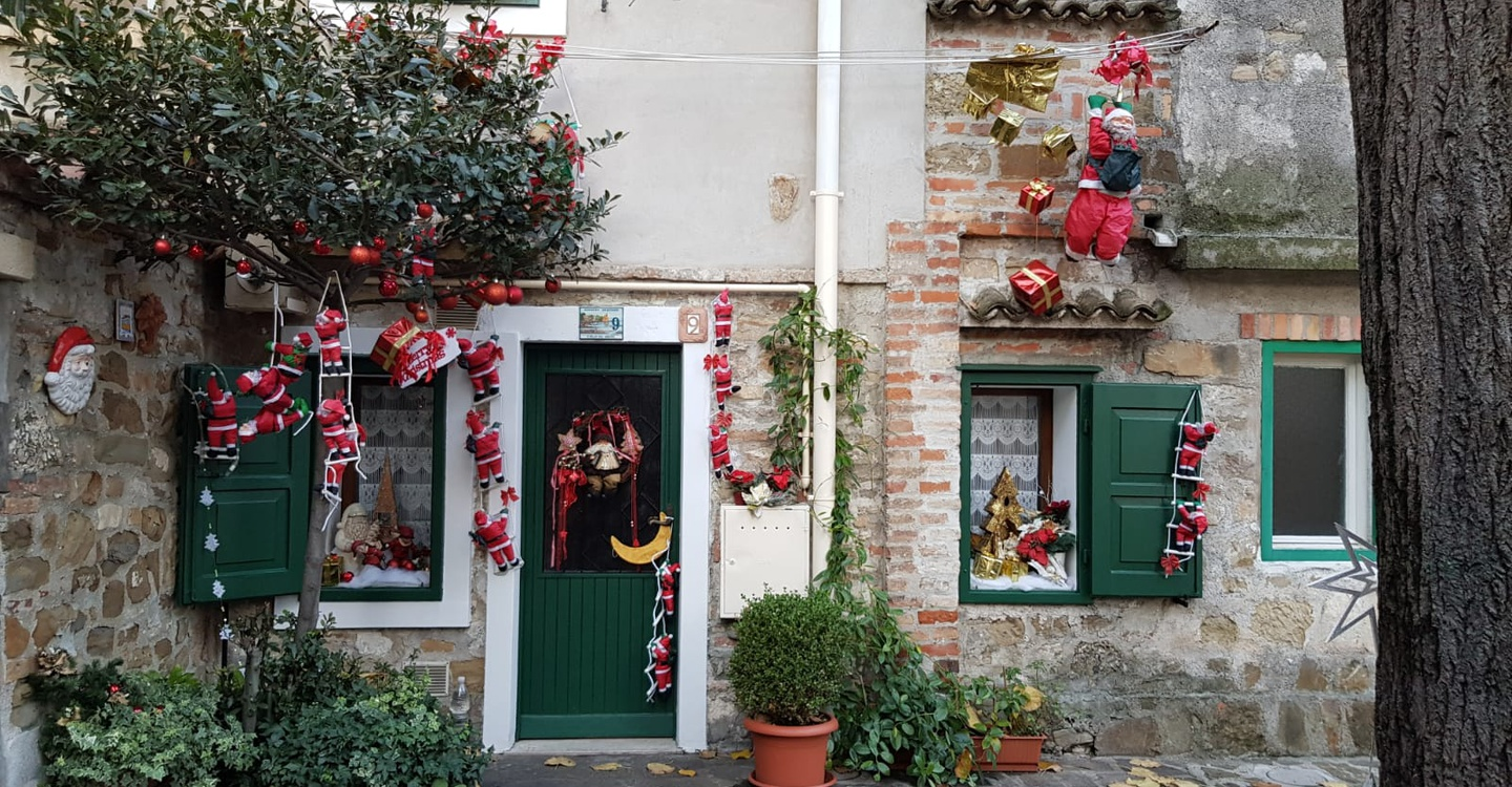 Where to sleep and eat in Grado during the Christmas holidays