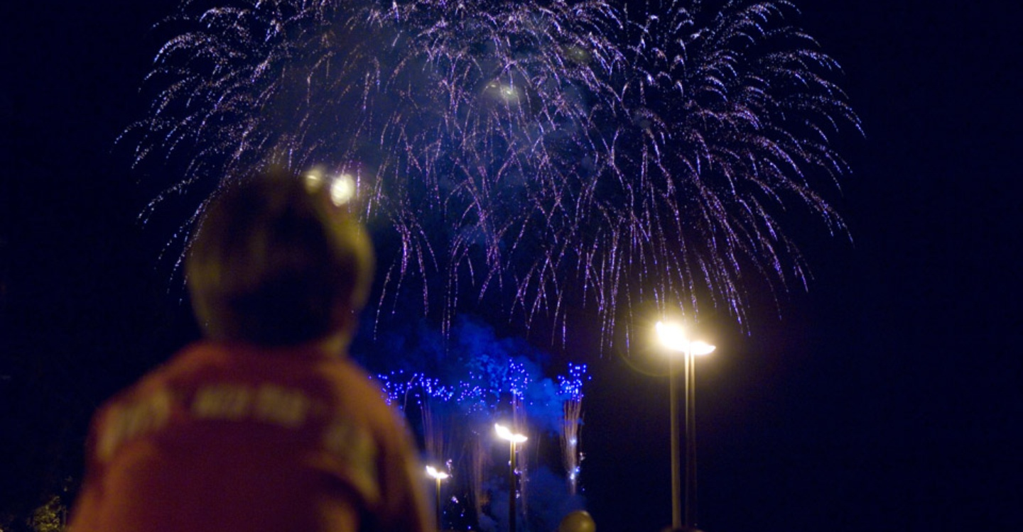Guest's Day: fireworks on the sea